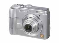 Panasonic Lumix DMC-LS1 de face