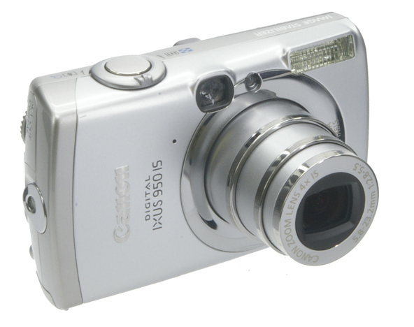 Canon 950is de trois quart face